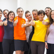 Group of Friends with Thumbs Up — Stock Photo #24362107