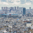 Stock Photo: Panoramic View of Paris from Montmartre