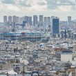 Panoramic View of Paris from Montmartre — Stock Photo