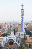 Guell Park in Barcelona — Stock Photo