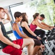 Group of Cycling at Gym — Stock Photo #25562761