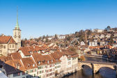 Houses in the City of Bern, Swiss — Stock Photo