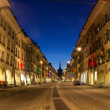 Stock Photo: City of Bern at Twilight