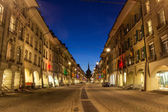City of Bern at Twilight — Stock Photo