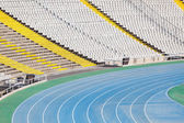Montjuic Olympic Stadium in Barcelona — Stock Photo