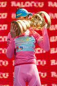 "Vincenzo Nibali wins the ""Giro d'Italia 2013"" — Stockfoto"