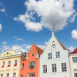 Typical Houses in Tallinn — Stock Photo