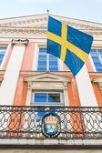 Swedish Embassy in Tallinn — Stock Photo
