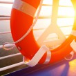 Life Buoy on a Cruise Ship — Stock Photo