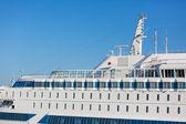 Barco en el golfo de finlandia — Foto de Stock
