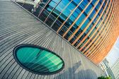 Moderni grattacieli nel distretto finanziario — Foto Stock