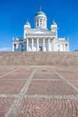 Lutheran Cathedral in Helsinki — Stock Photo