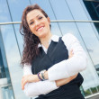 Beautiful Young Businesswoman Portrait — Stock Photo