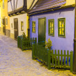 Golden Lane at Prague Castle — Stock Photo