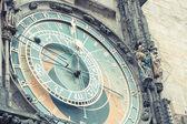 Atronomical Clock in Prague — Stock Photo