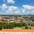 Aerial View of Vilnius with Financial District — Stock Photo #29043101