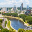 Stock Photo: Aerial View of Vilnius