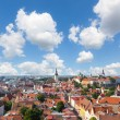 Panoramic View of Tallinn — Stock Photo
