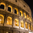 Colosseum in Rome at Night — Stock Photo