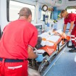 Rescue Team Providing First Aid — Stock Photo #31279185