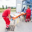 Rescue Team Providing First Aid — Stock Photo #31279331