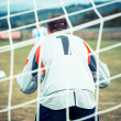 Foto Stock: Soccer Penalty Kick