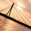 Stock Photo: Modern Bridge in Riga