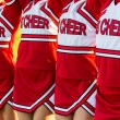 Group of Cheerleaders in a Row — Stock Photo #33333893
