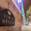 Tower Bridge at Night — Stock Photo #34124237