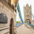 Tower Bridge in London — Foto Stock