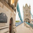 Tower Bridge in London — Foto Stock #34699179