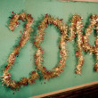 Stock Photo: New Year 2014 Decoration