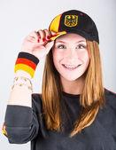 Jonge duitse vrouwen aanhanger — Stockfoto