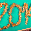 New Year 2014 Decoration — Stock Photo