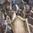 Jewish Cemetery in Prague — Stock Photo