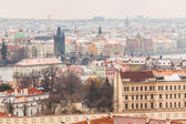 Charles Bridge and Prague Cityscape — Stock Photo