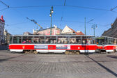 Tram in Prague — Stock Photo
