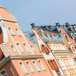 Typical Houses in Riga, Latvia — Stock Photo #38101455