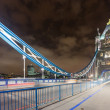 Tower Bridge at Night — Stock Photo