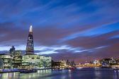 London Cityscape at Dusk — Stock Photo