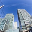 Canary Wharf, Financial District in London — Stock Photo #38568737