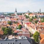 Panoramic View of Tallinn — Stock Photo