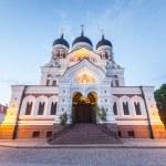 Alexander Nevsky Orthodox Cathedral in Tallinn — Stock Photo