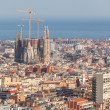 Panoramic View of Barcelona — Stock Photo #39247043
