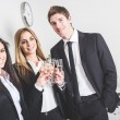 Business Team Toasting at Office — Stock Photo #39708353