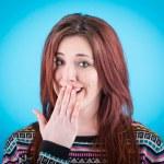 Pretty Redhead Girl Laughing — Stock Photo #39709993