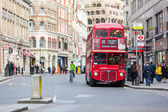 LONDON, UNITED KINGDOM - OCTOBER 24, 2013: Famous red Double-Dec — Stock Photo