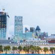 Stock Photo: London City at Dawn