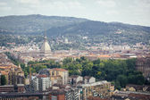 Turin, Italy, Aerial View — Stock Photo