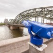 Cologne Cathedral and hohenzollern Bridge — Stock Photo #46476373